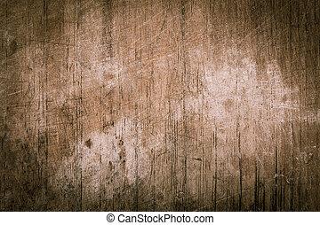 resistido, rasguño, textura, madera, tabla, plano de fondo, vendimia