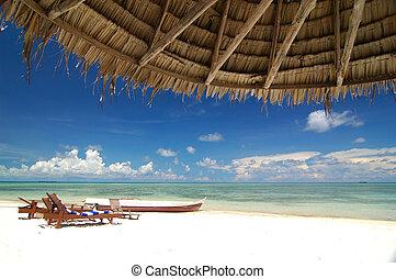 Resort de playa tropical