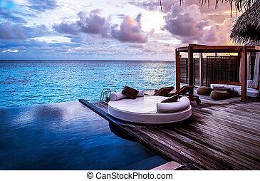 Resort playa de lujo