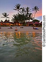 Resort Sunset