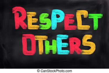 respeto, concepto, otros