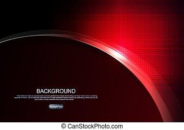 resplandor, resumen, silueta, textured, redondo, rojo, oscuridad, marco, plano de fondo, sombra