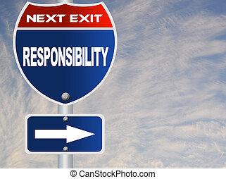 responsabilidad, muestra del camino