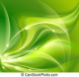 resumen, fondo verde
