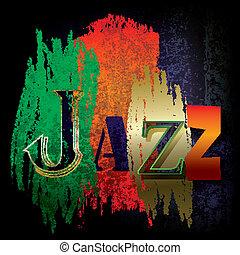 resumen, jazz, plano de fondo