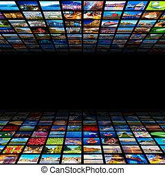 resumen, plano de fondo, multimedia