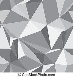resumen, -, seamless, textura, vector, plano de fondo, polígonos