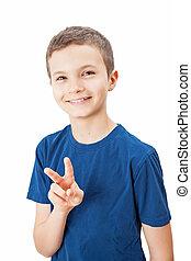 Retrato de un adolescente