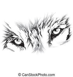 Retrato de un lobo