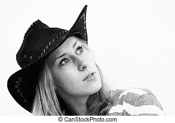 Retrato de una chica de moda