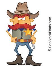 Retrato del sheriff