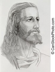 retrato, jesús