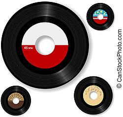 Retro 45 RPM