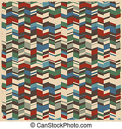 Retro abstracto fondo geométrico