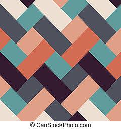 Retro estilo abstracto rayas fondo