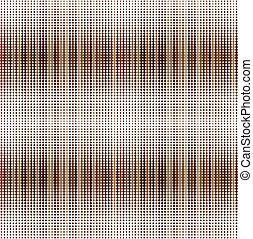 Retro fondo marrón con puntos