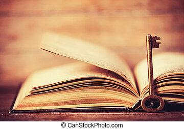 Retro Key y abrió el libro