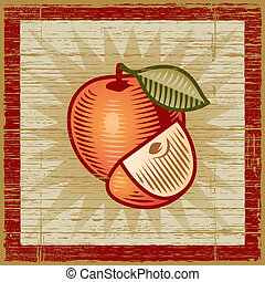 Retro manzana