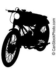 Retro moto cinco