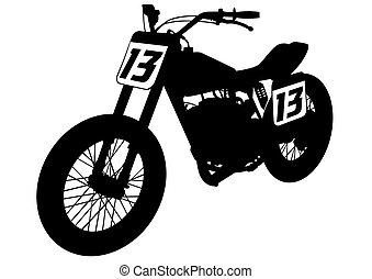 Retro moto dos