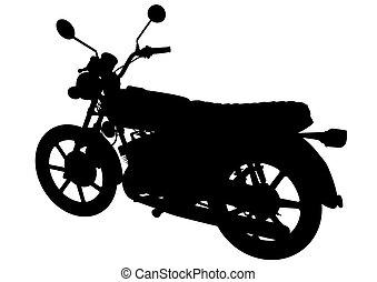 Retro moto ocho