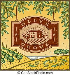 Retro Oliver Grove