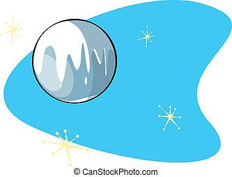 Retro planeta Plutón