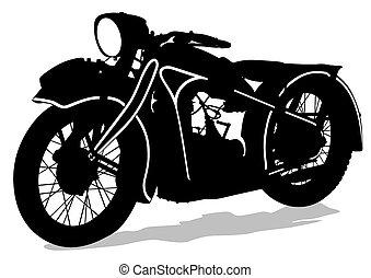 Retro vieja bicicleta