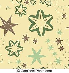 Retro Warping patrón de papel sin costura en tonos marrones claros
