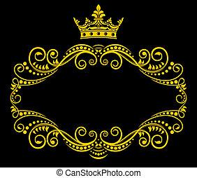 Retroprograma con corona real