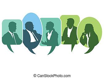 Reunión de discusión