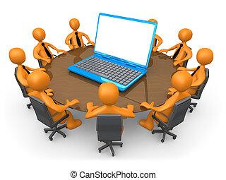Reunión de tecnología