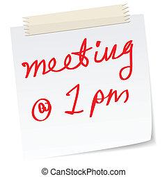Reunión urgente