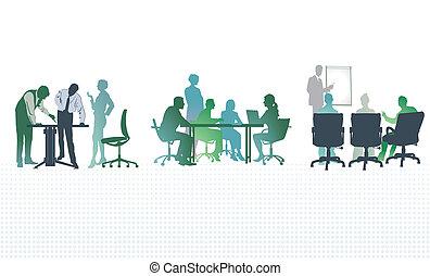 reuniones, oficina