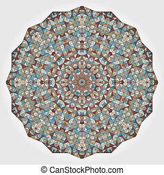 Revisión de vectores abstractos. Color decorativo estandarte geométrico moderno. Elemento de diseño real