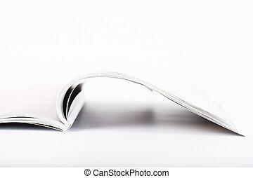 revista, abierto