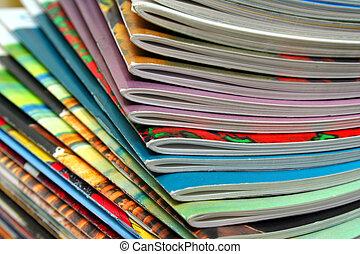 revistas, colorido