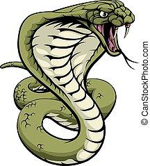 rey, serpiente, cobra