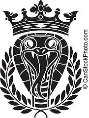 rey, serpientes