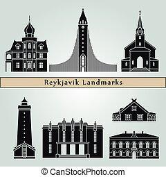 Reykjavik V2 puntos de referencia