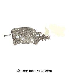 Rhino de dibujos animados