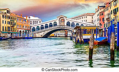 rialto, venecia, puente