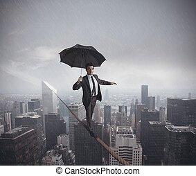 Riesgos y retos de la vida de los negocios