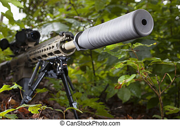Rifle suprimido