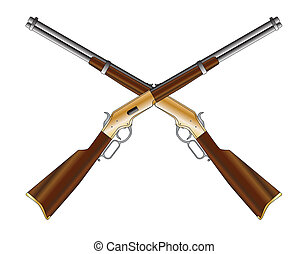 rifles, cruzado