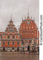 Riga, la casa de los negros