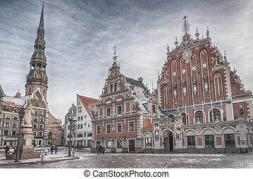 Riga la casa de los negros