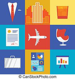 Riqueza y ilustración de negocios