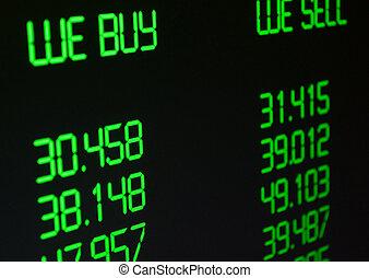 Ritmo de cambio de moneda