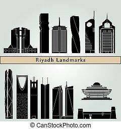 Riyadh V2 puntos de referencia